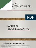 art-90-109 de la constitucion peruana, Poder Legislativo