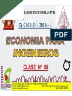 Clase 05 Economia Para Ing 2016 i