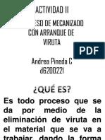 Actividad II Andrea Pineda