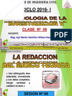 Clase 06 2016 i Redaccion Marco Teorico Normas Iso y Apa