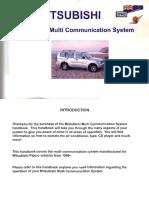 Mitsubishi Multi Communication System Manual in English