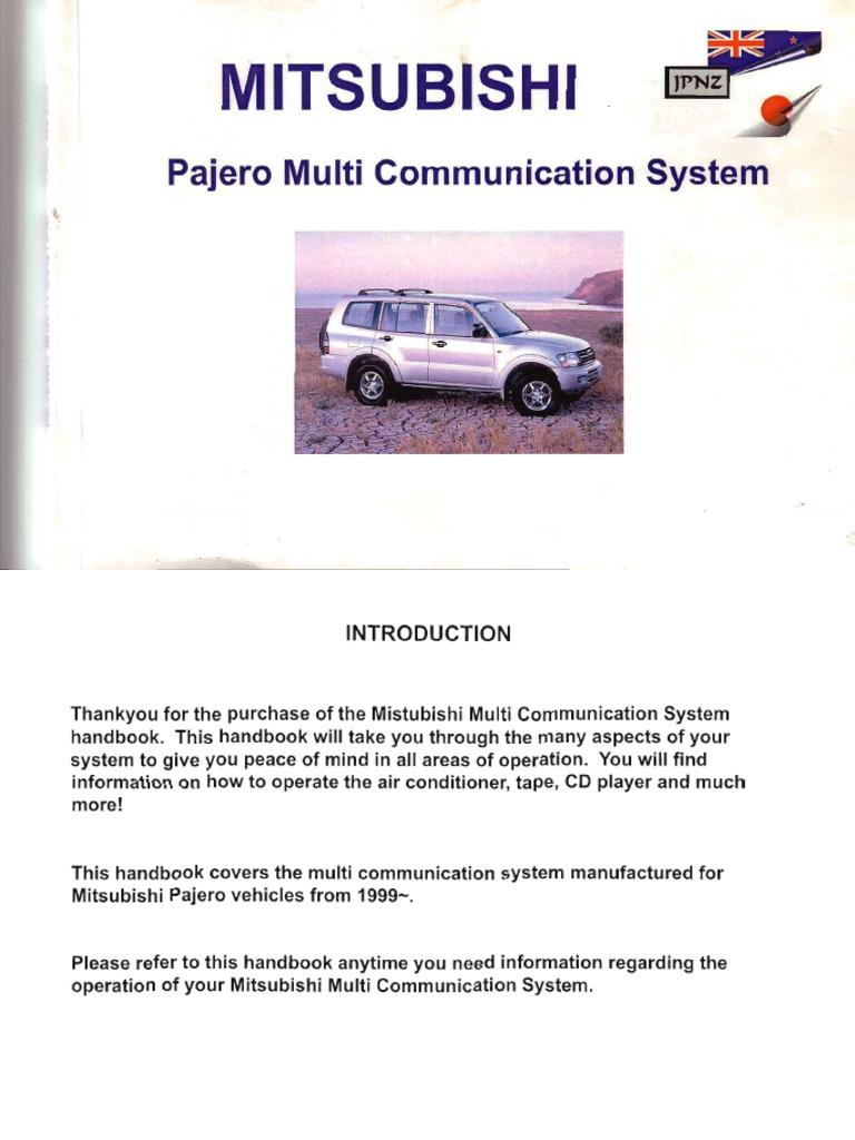 mitsubishi multi communication system русификация