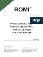 Manual Romi GL 240