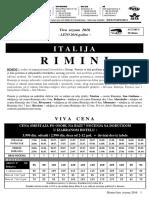 Rimini Leto 2016. Viva