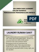 Dra. Debby Daniel - Makalah Laundry Hotel Sahid 2016