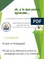 Autoevaluacion de Efc y Tecnicas Pedagogicas.