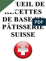 Recettes Patisserie Suisse