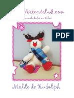 Artentelas Molde Rudolph