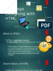 Webpage Designing With HTML5