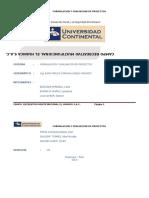 Trabajo de Formulacion y Evaluacion de Proyectos 4