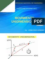 07 Movimiento Unidimensional