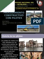 Procedimiento Constructivo Con Pilotes AUMENTAR PROCESO CONSTRUCTIVO