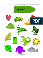 Color Green Recognition