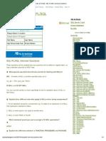 SQL_PLSQL_BlogSpot - PLSQL Interview Questions