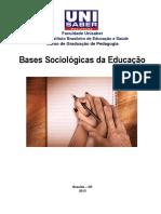 Apostila de Bases Sociologicas Da Educação