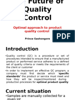The Future of Quality Control
