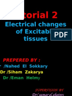 Tutorial 2 Electrical Changes of Excitable Tissues