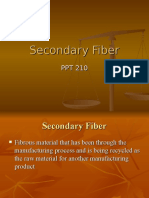 PPT 210 Secondary Fiber