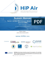 HiPAir_deliverable_Survey Report Final v2