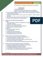 Sslc-ss- History - Important 5 Marks Question and Key Answer- English Medium (1)