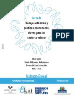 Autonomos y Política Económica. PROGRAMA