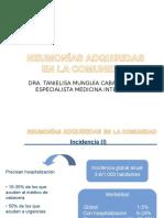 Neumonia- Dra. Munguia