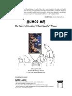 HANDOUT ClientSpecificHumor