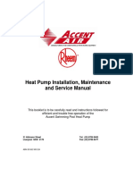 Typical Schematic for Single Hot Water Heat Pump