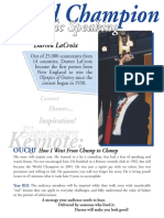 Keynote One Sheet