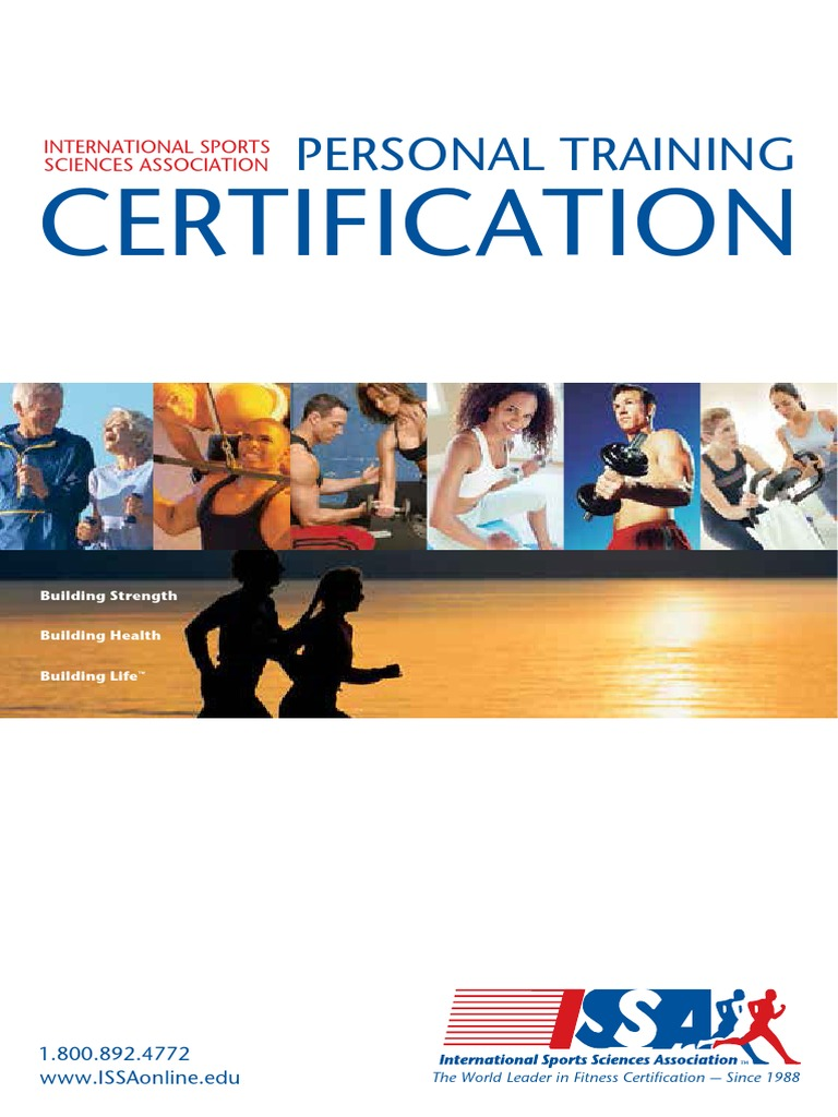 issa personal trainer certification fitness