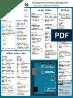 Programacion Arduino Basica . Chuleta
