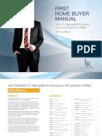 John Ruddicks First Home Buyer Guide - 2016