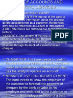 Types of Accounts and Banking Services 2