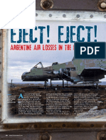 Eject! Eject! Argentine Air Losses Falklands 1982
