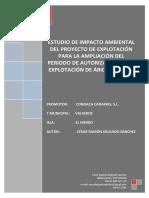 EIA Extraccion de Aridos