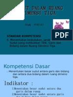 KD 6.3 Dimensi Tiga Sudut