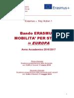 BANDO ERASMUS+ Europa_2016_17_per_web