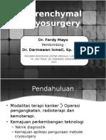 Parenchymal Cryosurgery FER