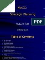 MACC Strat Planning