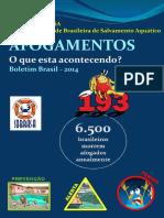 Afogamentos Boletim Brasil 2014