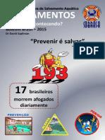 Afogamentos Boletim Brasil 2015