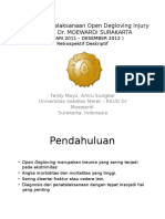 Evaluasi Penatalaksanaan Open Degloving Injury-ed