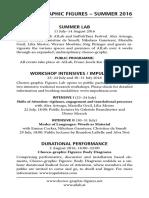 Summer Lab Programme