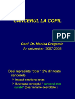CURS 3-Cancerul La Copil