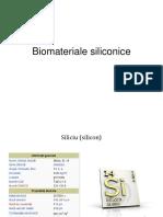 Biomateriale Pe Baza de Silicon 21-04-2015