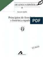 Quilis - Principios de Fonética y Fonología Espanolas