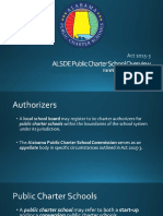 Alabama Public Charter School presentation