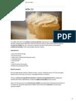 Muffins de Baunilha