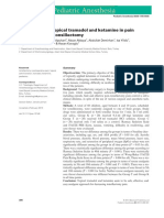 Comparison of Topical Tramadol and Ketamine in Pain Treatment