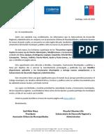 Programa Encuentros Regionales Ley N° 20.922 AChM - Subdere